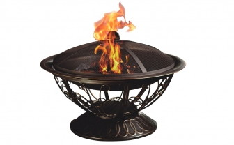 Steel Fire Pit, Only $42.33 at Amazon–Normally $129.99!