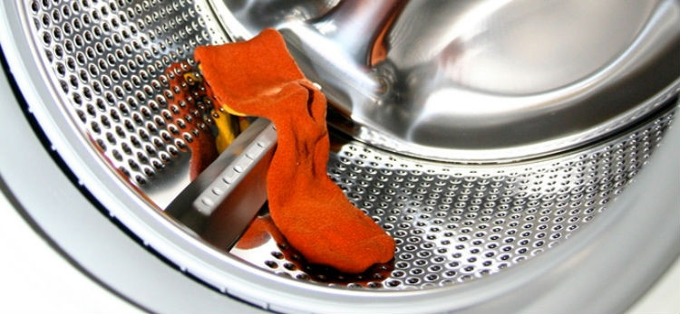 Throw in a wet sock with wrinkled clothes and turn on the dryer.