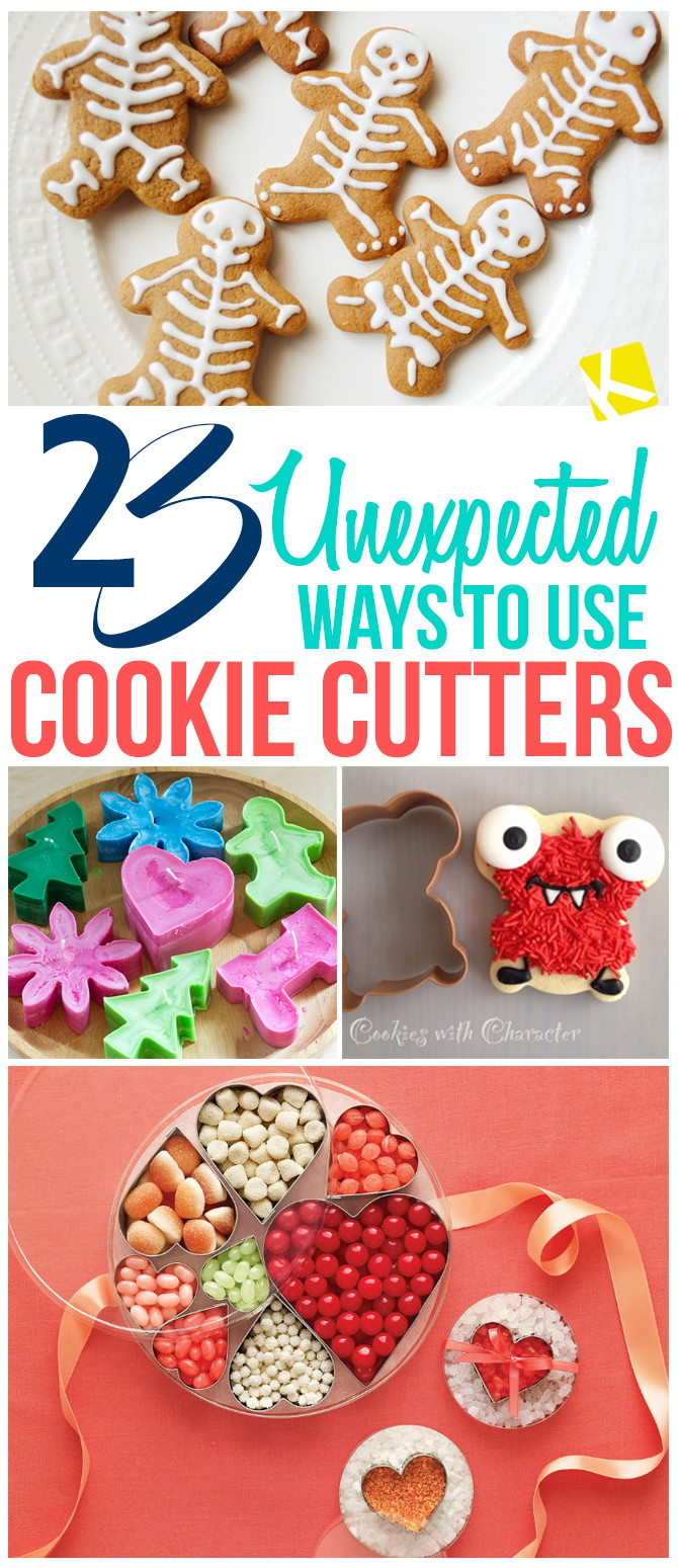 23 Unexpected Ways to Use Cookie Cutters
