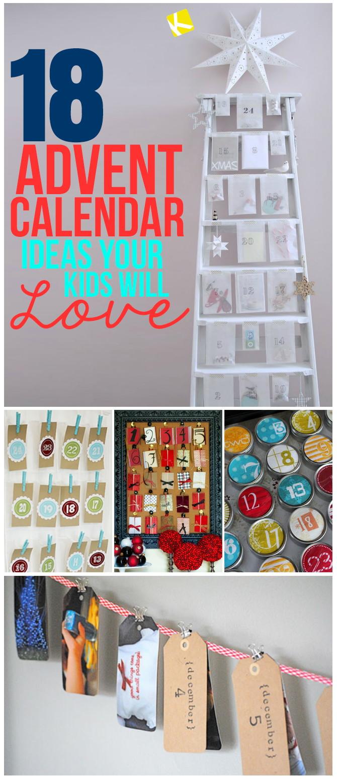 18 Advent Calendar Ideas Your Kids Will Love