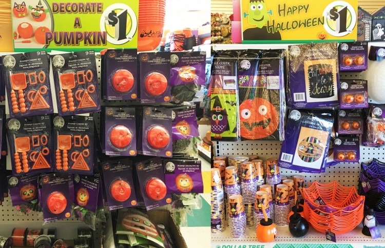 halloween source halloween decor party supplies u0026 candy only 1 00 at dollar tree