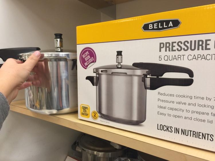 bella pressure cooker macys