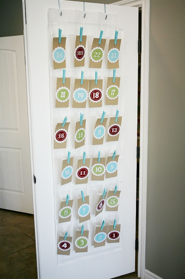 Keep things simple with a shoe organizer.