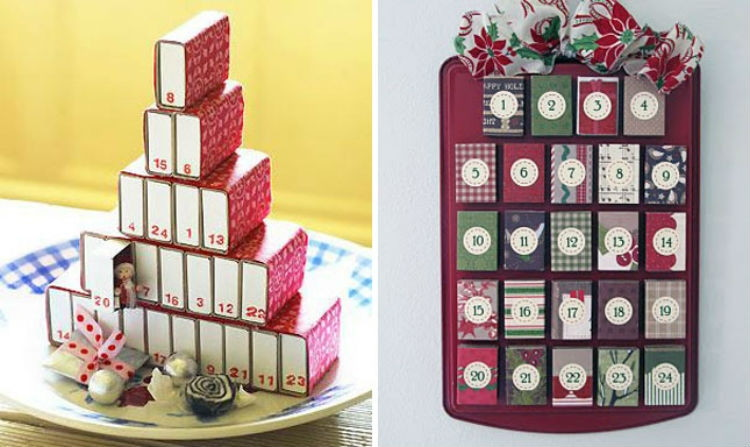 Turn matchboxes into gift holders.