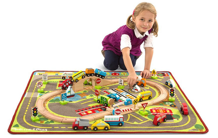 Melissa Doug Deluxe Activity Rug Only 50 39 Normally 90 The Krazy Coupon Lady