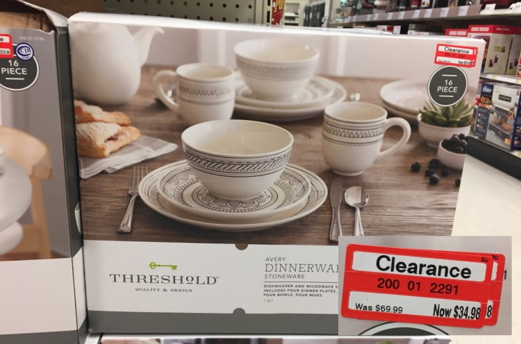 clearance-dinnerware