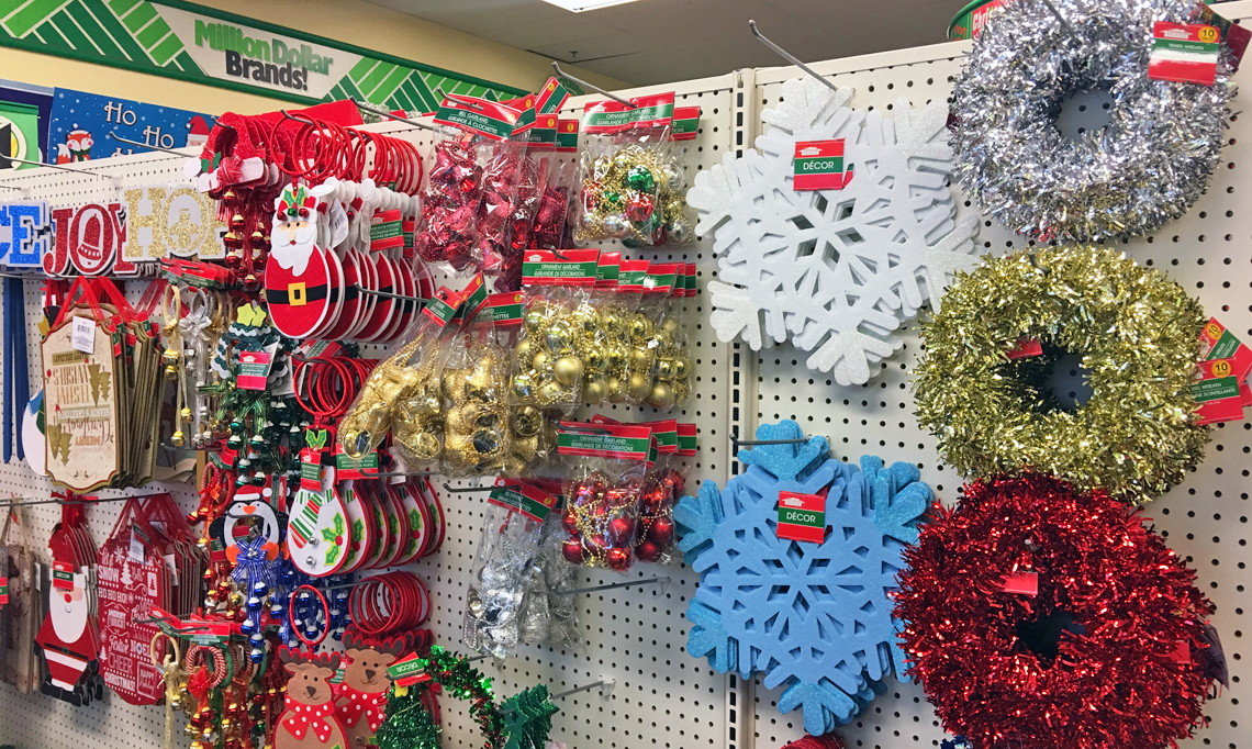 Gift Bags, Ornaments & More Christmas, Only $1.00 at Dollar Tree ...