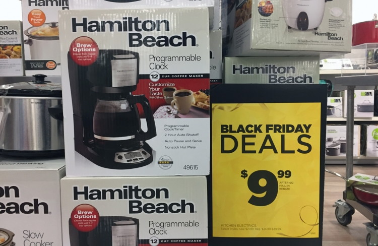 small kitchen appliances, as low as $0.33 at kohl's!