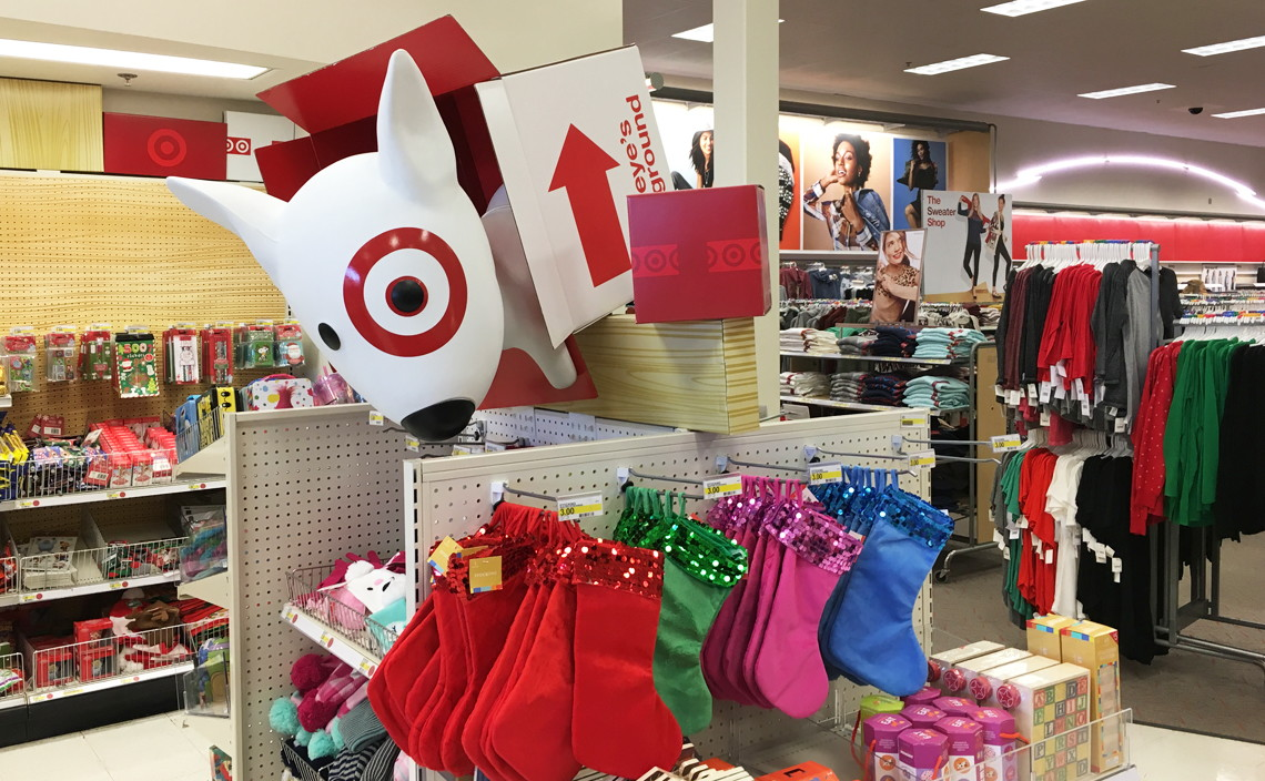 New at Target Dollar Spot--$1.00 Wrapping Paper, $3.00 Stockings ...