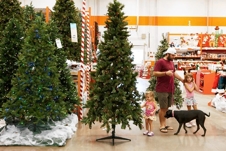 Home depot xmas decorations christmas tree decorating for Home depot outdoor decorations for christmas