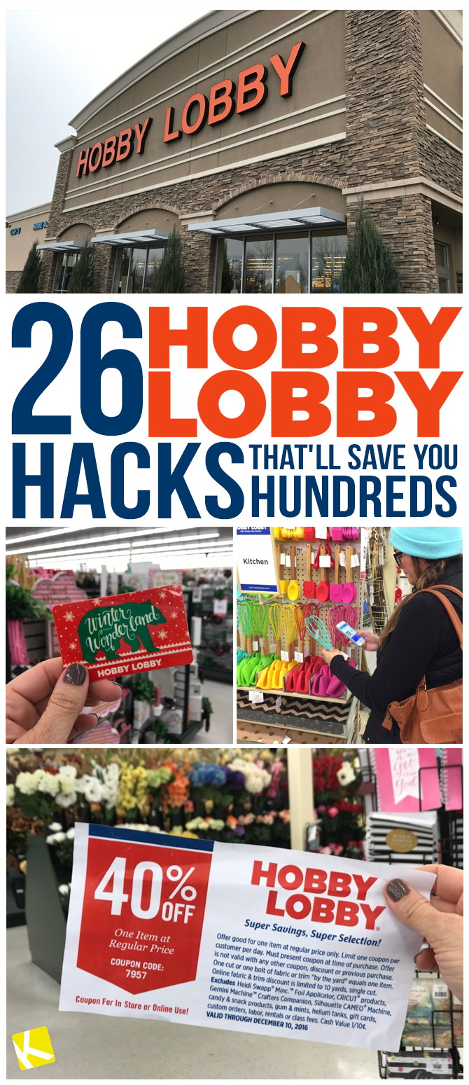 26 hobby lobby hacks that ll save you hundreds the krazy coupon lady