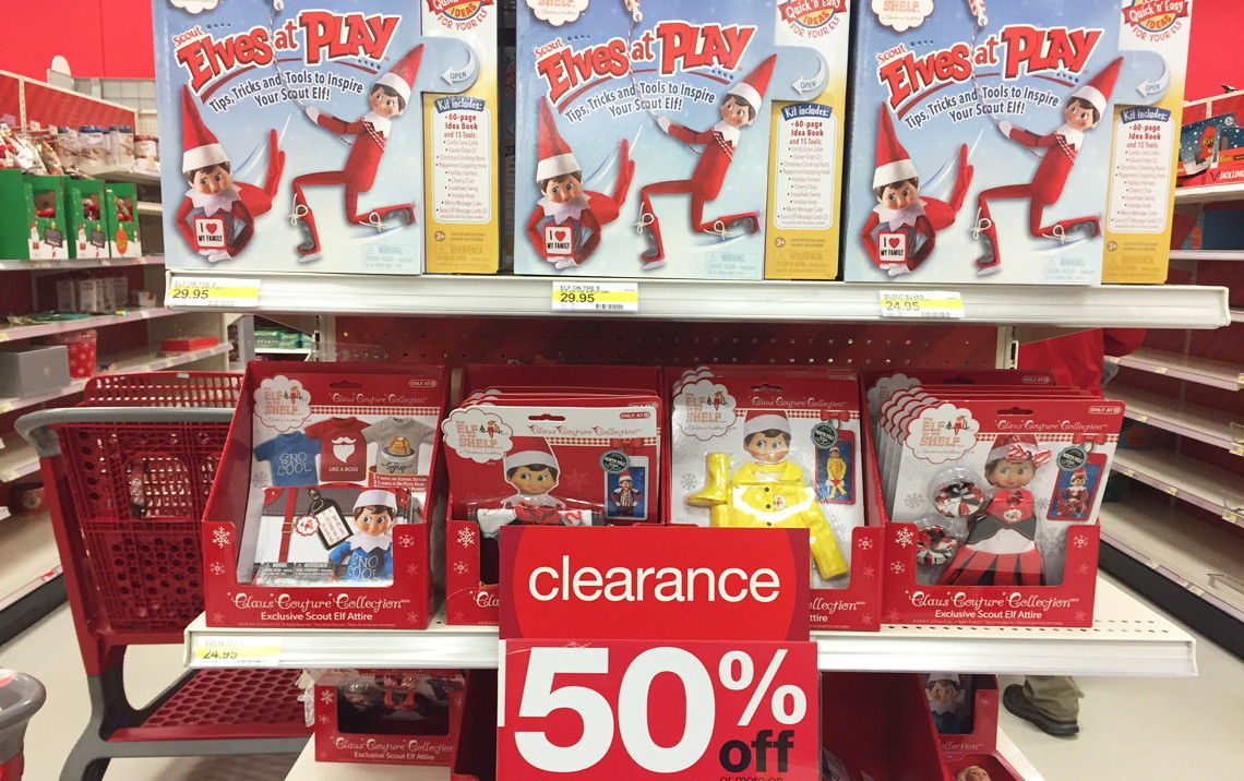 Elf on the Shelf Clearance at Target--Up to 70% Off!