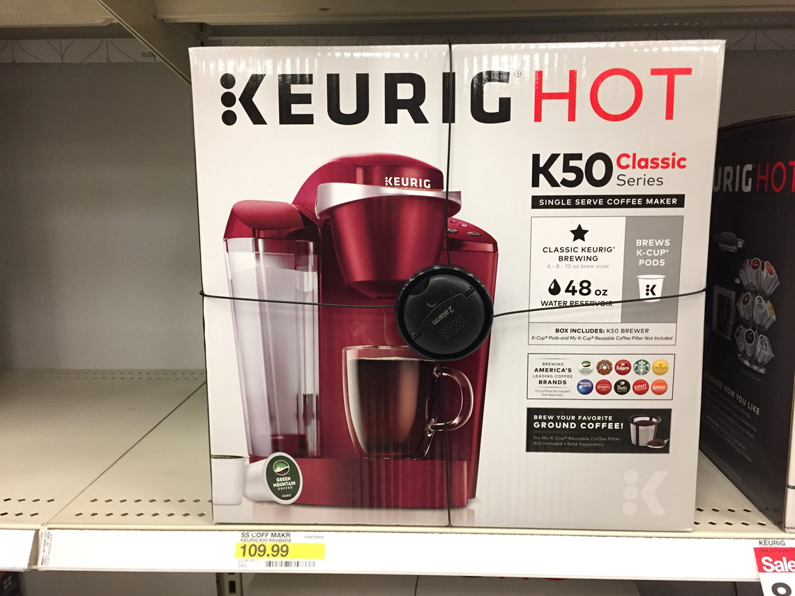 Keurig Coffee Maker At Kroger : Lowest Price EVER! Keurig K50 Coffee Maker, Only USD 32 at Target!