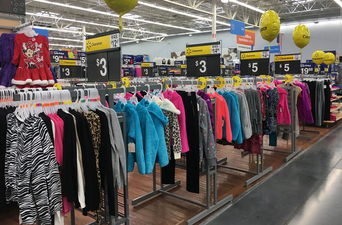 walmart clearance alert clothing as low as 1 00