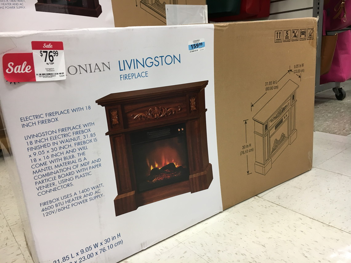 Kmart: $21.00 Electric Fireplace, $24.99 Futon & More! - The Krazy ...