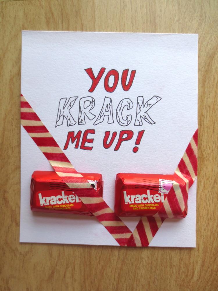 """You """"krack"""" me up."""