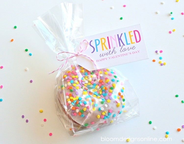 """Sprinkled"""" with love."""