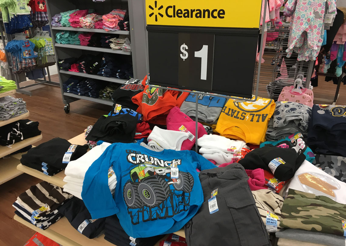 clothing clearance at walmart prices as low as 1 00