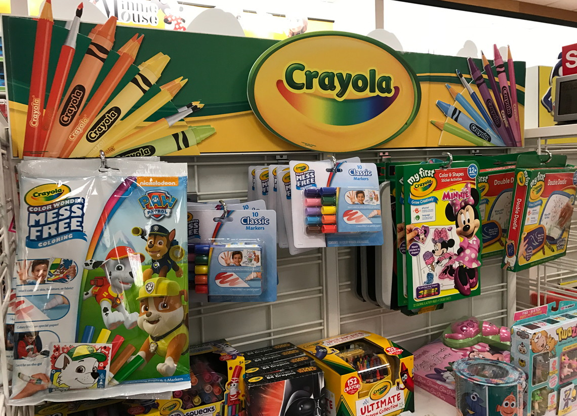 Crayola 832 Count Crayons Coloring Book Only 4109 At Kohls Reg 9698