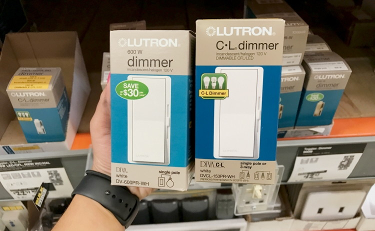 Home Depot Dimmer Swtich Coupon