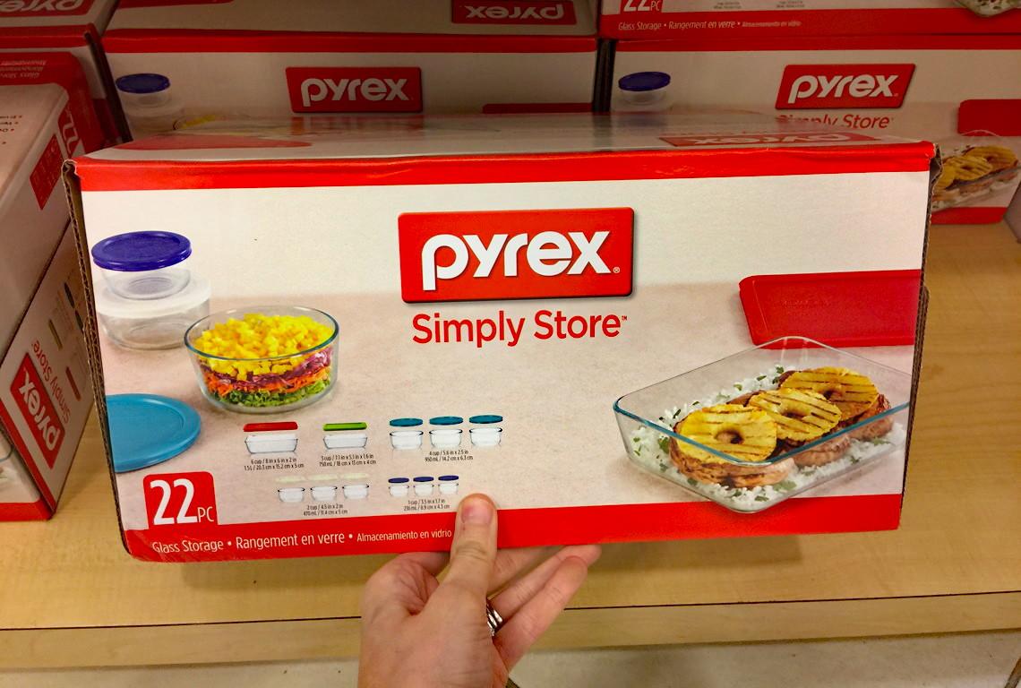 Pyrex 22 Piece Storage Set, Only $24.99 At Macyu0027s  Reg. $79.99!   The Krazy  Coupon Lady