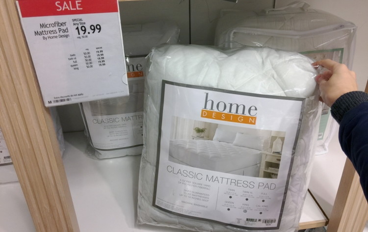 home design mattress pads, only $19.99 at macy's--any size! - the