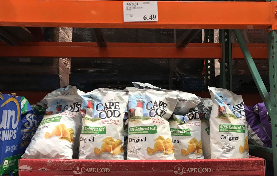 top snack deals at costco  cape cod chips   4 19
