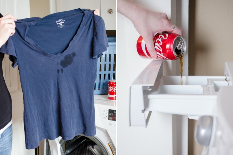 Get rid of blood and grease stains in fabric.