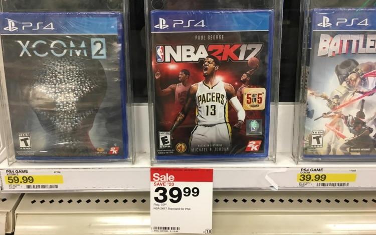 buy 1 ps4 nba 2k17 video game reg sale price through 218 - Ps4 Video Games