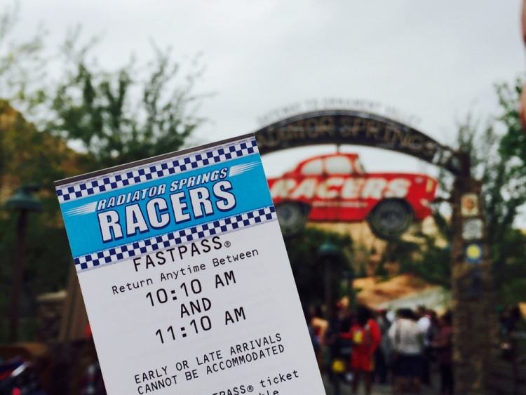 Park hopping between California Adventure and Disneyland? Hold 2 FastPasses at the same time.