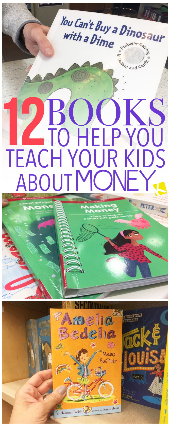 12 Books to Help You Teach Your Kids About Money