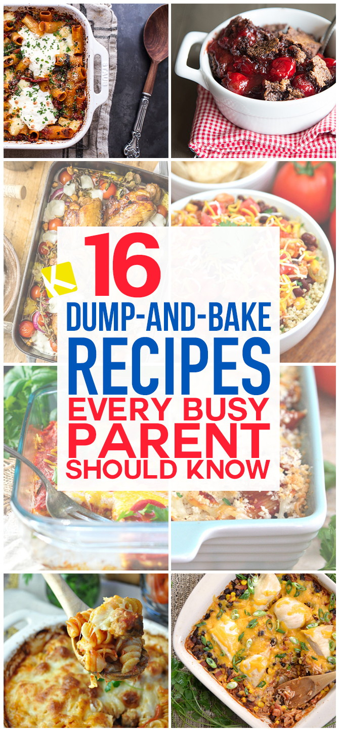 16 Dump-and-Bake Recipes Perfect for Busy Weeknights