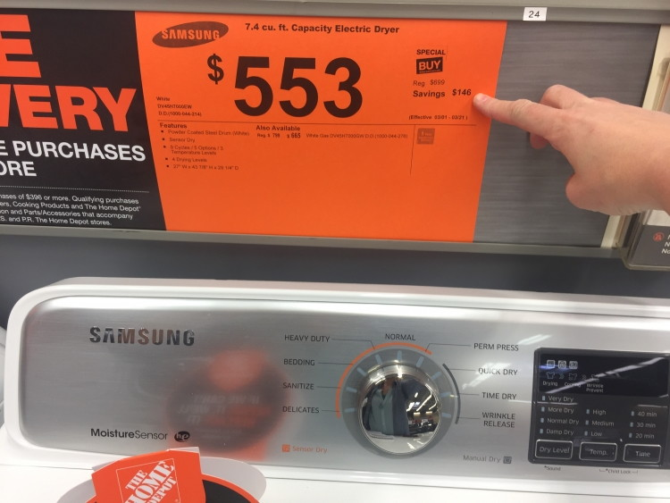 Bathroom Signs Home Depot 36 home depot hacks you'll regret not knowing - the krazy coupon lady