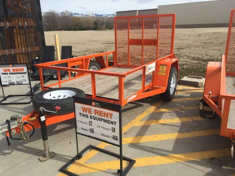 rent a load n go truck for 19 or a trailer for 27 to bring home a heavy load - Home Depot