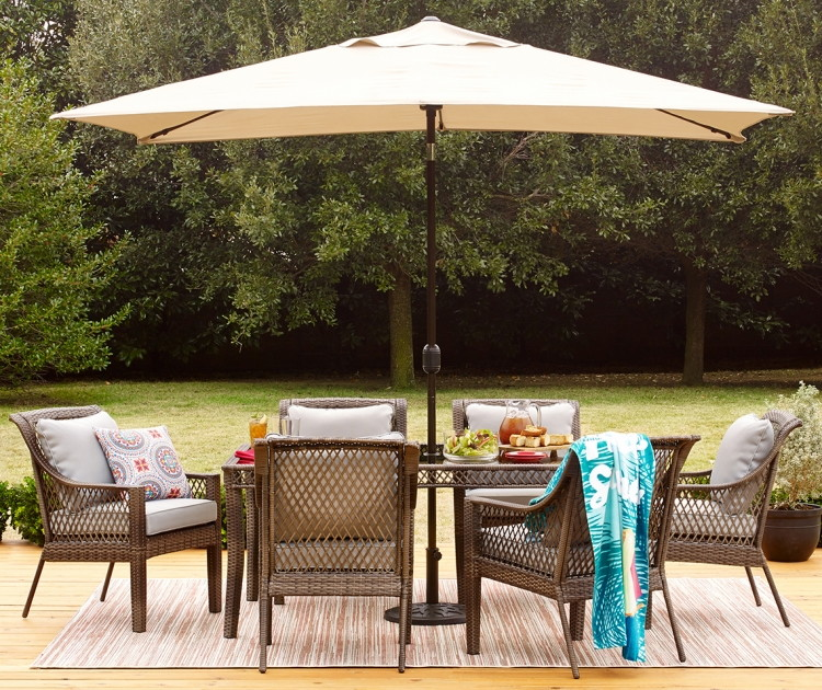 Up to 72 Off Patio Sets at JCPenney 7Pc Dining Set Only