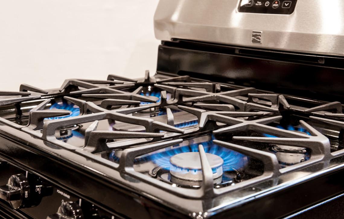 Kenmore Stainless Steel Gas Range, Only $390.84 Delivered at Sears ...
