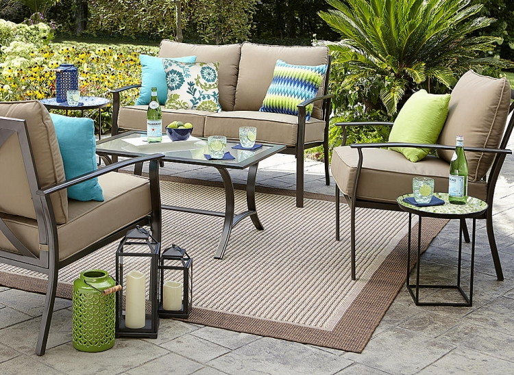 Garden Oasis Harrison 7 Piece Dining Set Shop Your Way