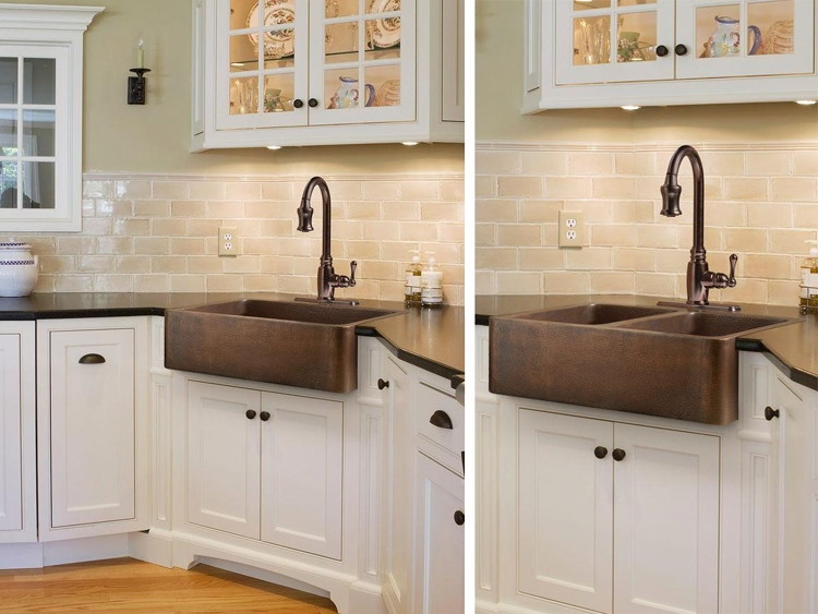 Beautiful Also Get The Double Bowl Sink For About $30.00 More. Check This Out: