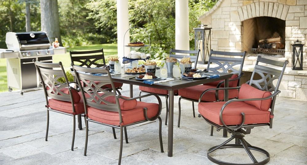 Hampton Bay 7 Pc Patio Set, Only $399.00 At Home Depot  Save $200.00!   The  Krazy Coupon Lady