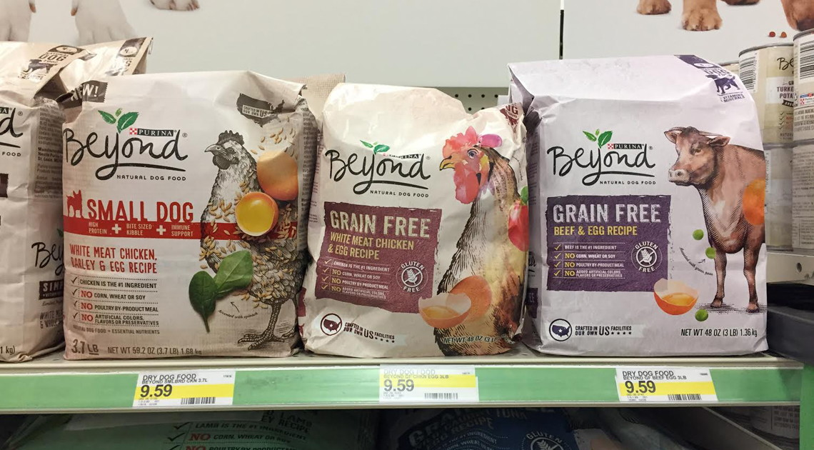 Moneymaker Purina Beyond Dog Food at Target!