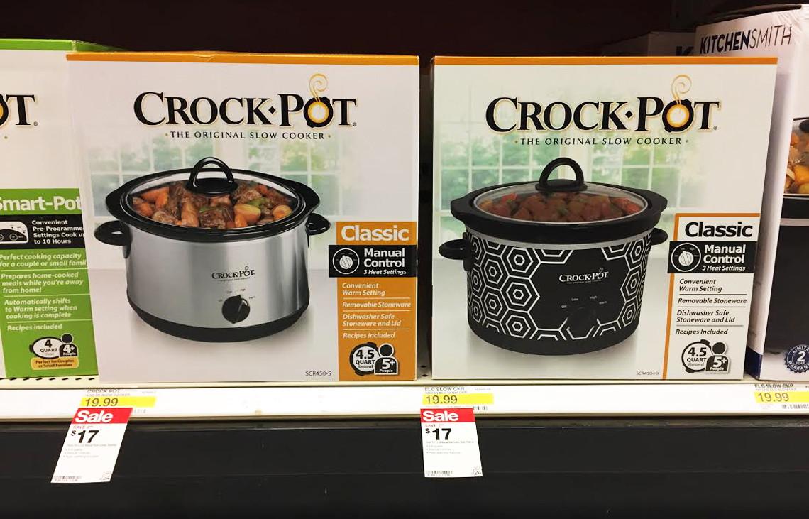 buy 1 crockpot 45 qt sale price through 624