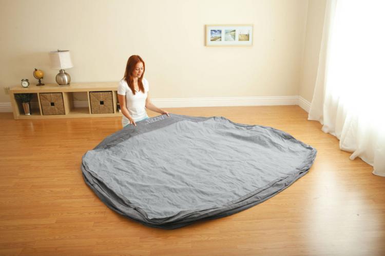 intex queen air mattress w builtin pump only 35 shippedsave 59