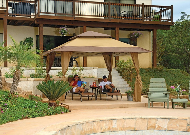 buy 1 zshade 13u2032 x 13u2032 gazebo reg members get 500 in shop your way rewards points when you spend to on to - Sears Patio Furniture