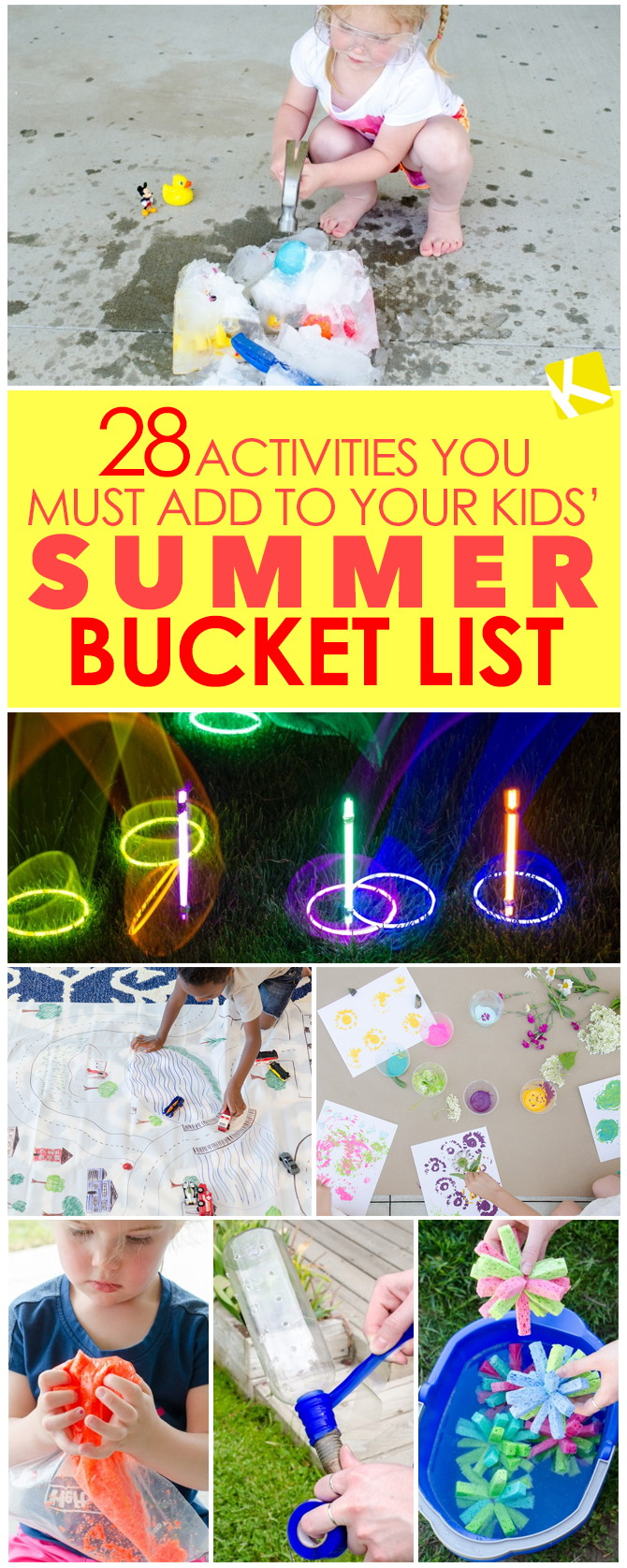 28 activities you must add to your kids u0027 summer bucket list the