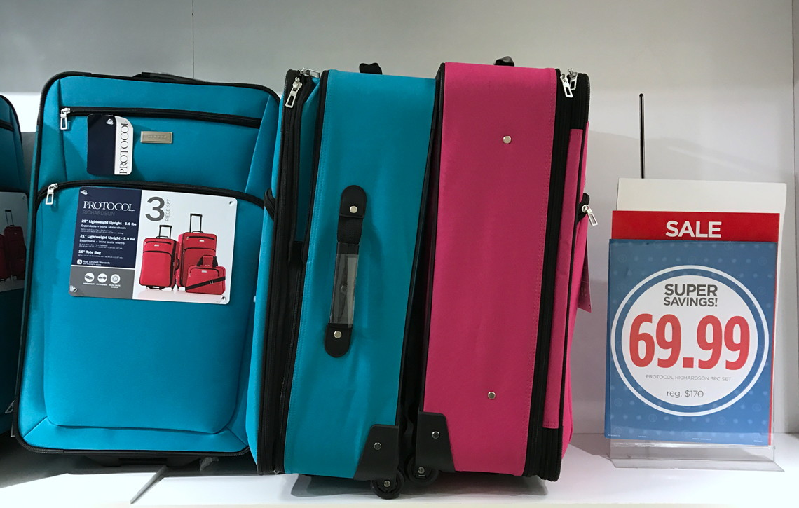 Protocol 3 Pc Luggage Set, Only $48.99 at JCPenney--Reg. $170.00 ...