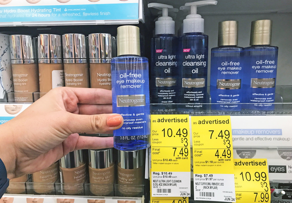L'oreal eye makeup remover coupons -  Neutrogena Printable Coupon Neutrogena Oil Free Eye Make Up Remover Ca Neutrogena Face Towelettes Only 1