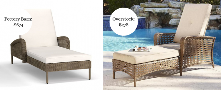 2. Save $396 On Your Wicker Chaise.