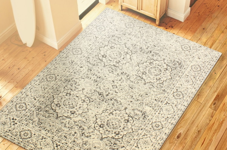 buy 1 amhurst silver area rug 5u2032 x reg use the 10 off unique coupon code free shipping on orders over final price