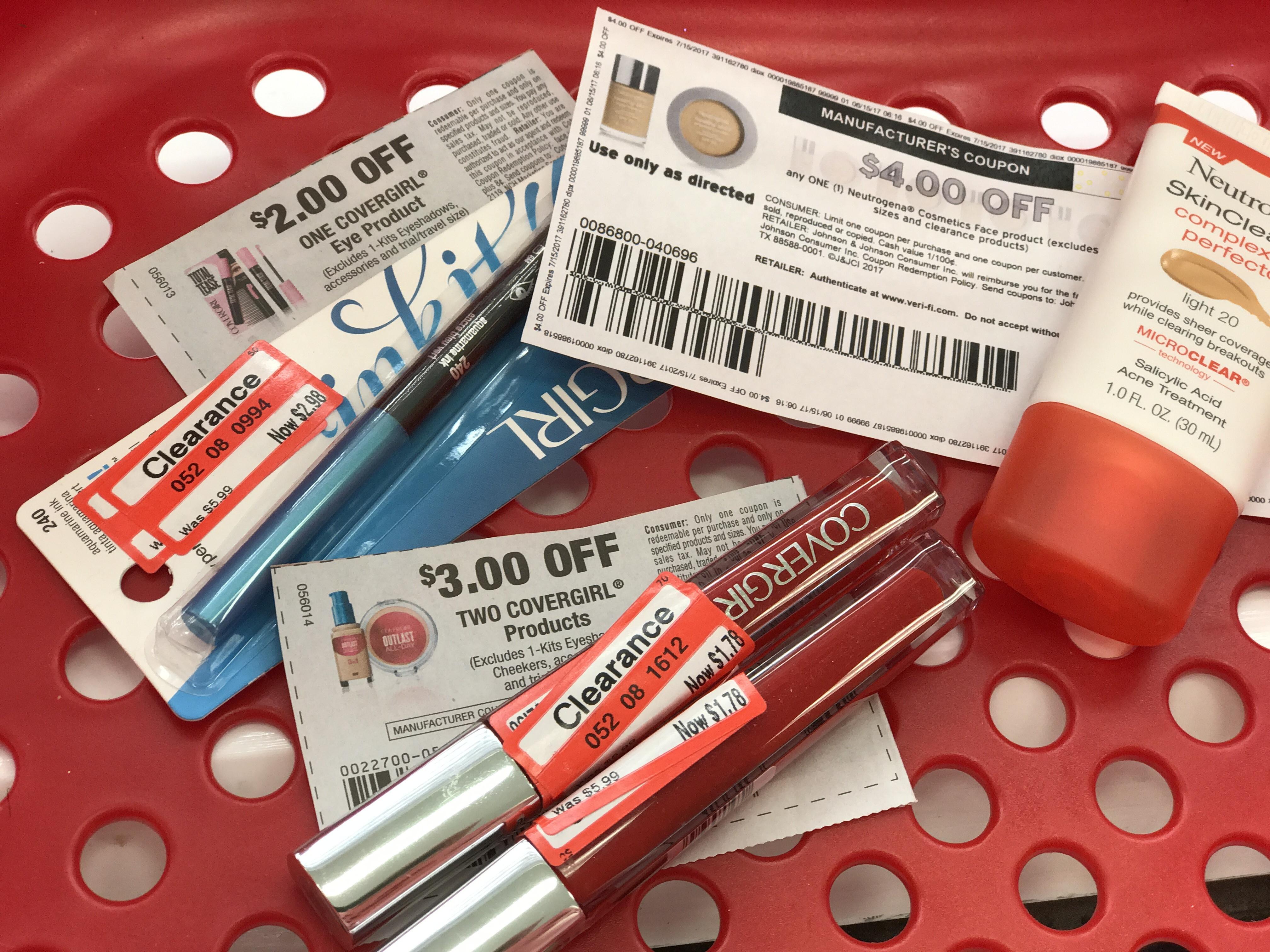Target makeup coupons