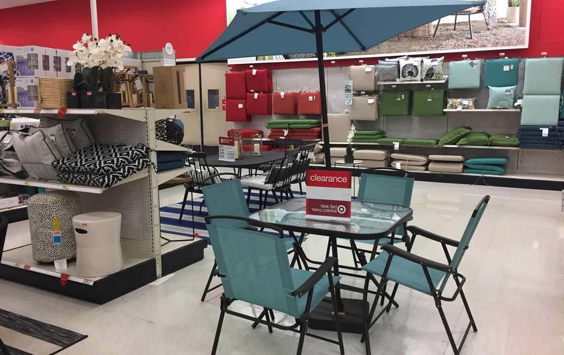 Clearance + 10% Off: 7 Pc Patio Set, Only $77.79 At Target (Reg. $129.99)!    The Krazy Coupon Lady
